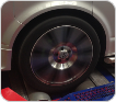 VW Transporter Wheel on Dyno