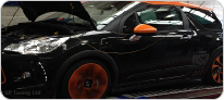 Citroen DS3 on Rolling Road During Remap